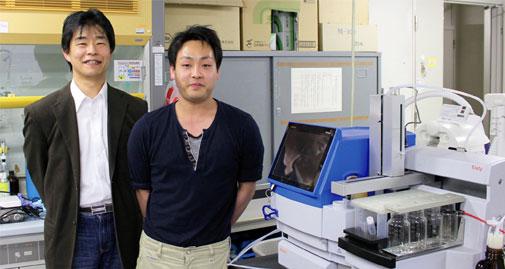 鳥取大学大学院工学研究科化学・生物応用工学専攻(生物有機化学研究室)