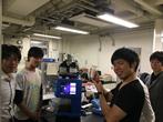 大阪大学大学院 基礎工学部 生物材料設計グループ 境教授 中畑助教